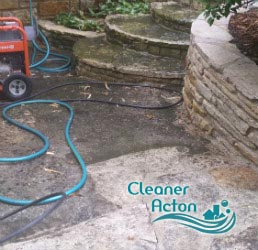 stone patio cleaning acton